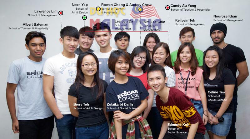 Du học Malaysia học tiếng anh tại Cao đẳng Erican