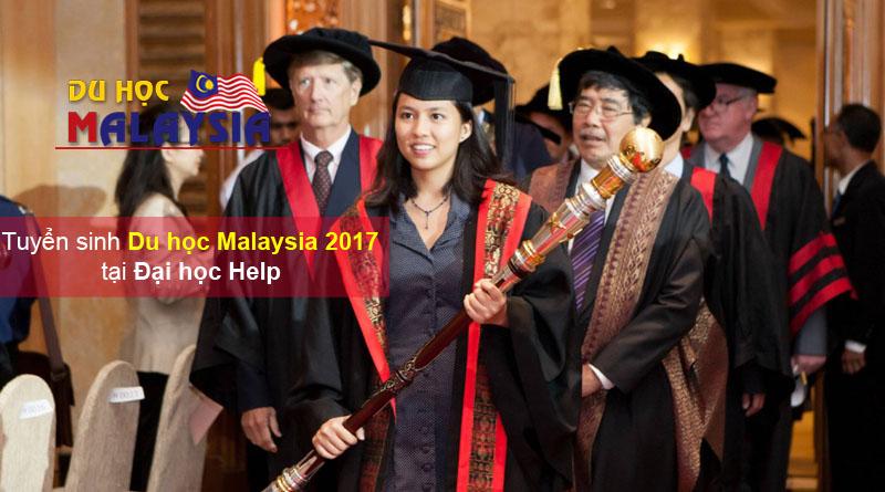 Du học Malaysia tuyển sinh Đai học Help năm 2017