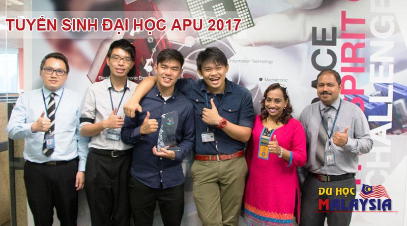 Thông tin tuyển sinh du học Malaysia tại Đại học APU năm 2017