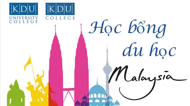 Thông tin học bổng trường KDU khi chọn du học Malaysia năm 2018